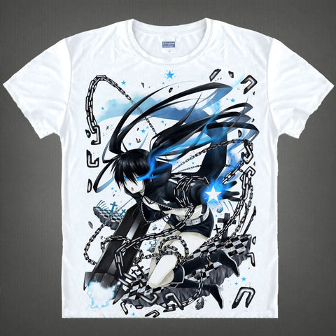 Black Rock Shooter Shirt - Mato Kuroi - AnimeBling - 1