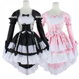 Black Butler Cosplay Costumes - Maid Lolita Dress - AnimeBling - 3