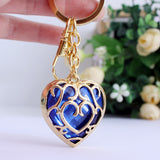 Legend of Zelda Heart Container Necklace - Red/Blue Color - AnimeBling - 11