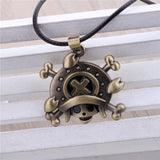One Piece Necklace - Chopper Bronze Pendant - AnimeBling - 3