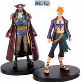 One Piece Action Figures, Roger & Marco - 2 Pcs/Set - AnimeBling - 1