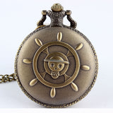 One Piece Pocket Watch - Quartz Movement Fob Watch - AnimeBling - 2