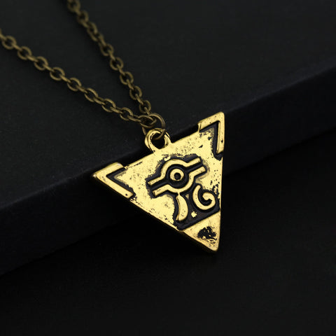Yugioh Necklace - Triangle Pendant - AnimeBling - 1