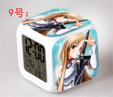 Sword Art Online - Digital Alarm Clock LED 7 Colors - AnimeBling - 10