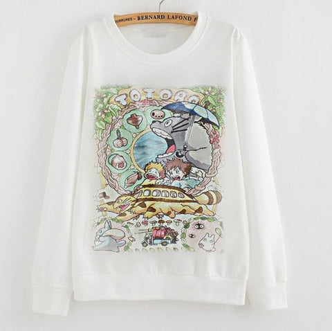 Totoro Sweatshirt - 6 Different Styles - AnimeBling - 2