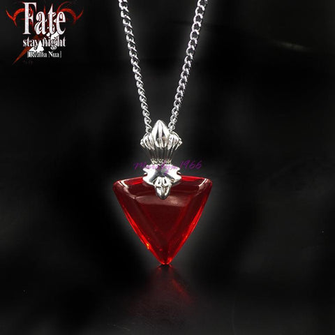 Fate Stay Night Necklace - Tohsaka Rin Cosplay - AnimeBling - 1