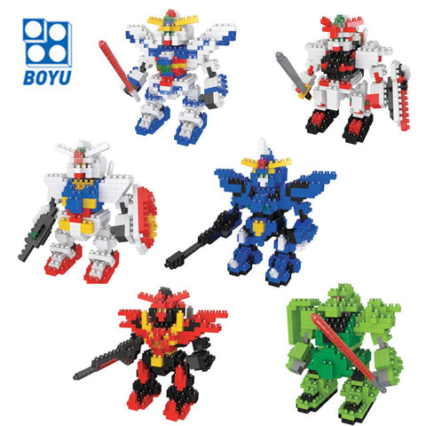 Gundam Models - 9cm Figure Building Blocks - AnimeBling - 1
