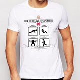 One Punch Man T Shirt - Training to beat Goku - AnimeBling - 3