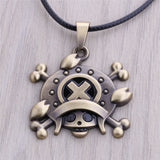 One Piece Necklace - Chopper Bronze Pendant - AnimeBling - 1