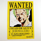 One Piece Posters - 11 Pcs/Set Wanted Posters - AnimeBling - 6