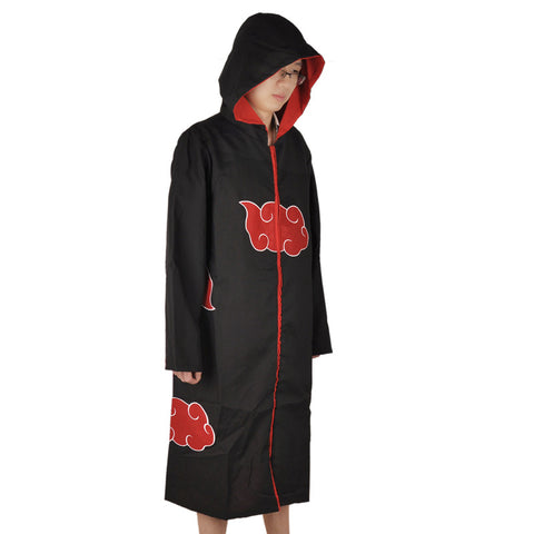 Naruto Cosplay - Akatsuki Costume Hooded - AnimeBling - 5