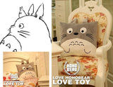 Totoro Cushion - 3D Plush Pillow Cushion - AnimeBling - 5