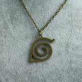 Naruto Necklace - Konoha Leaf Village Symbol - AnimeBling - 3