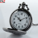 Black Butler Watch - Vintage Black Pocket Watch - AnimeBling - 3