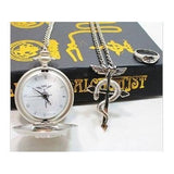 Fullmetal Alchemist Box Set - Pocket Watch + Necklace + Ring - AnimeBling - 3