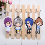 Tokyo Ghoul Keychain - 8 Pcs/Set Keychains - AnimeBling - 6