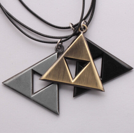 Legend of Zelda - Triforce Necklace - AnimeBling - 1