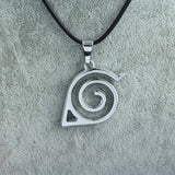Naruto Necklace - Konoha Leaf Village Symbol - AnimeBling - 2