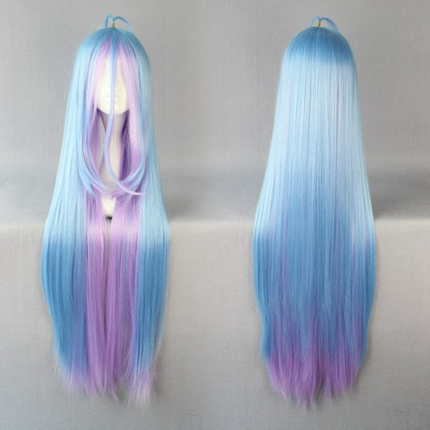 No Game No Life Shiro Wig - Long Cosplay Wig 105cm - AnimeBling - 1