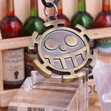 One Piece Necklace - Trafalgar Law Heart Pirates Logo - AnimeBling - 3