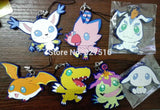 Digimon Keychain - 4 Pcs/Set - AnimeBling - 6