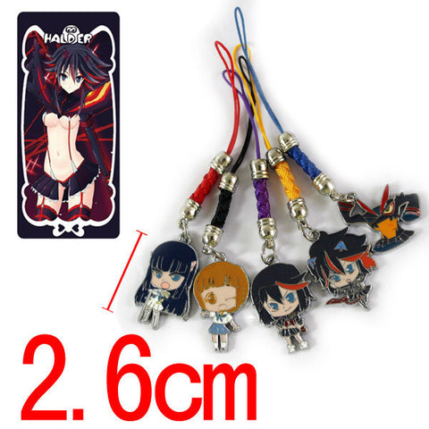 Kill la Kill Keychain - 5 Pcs/Set - AnimeBling - 2