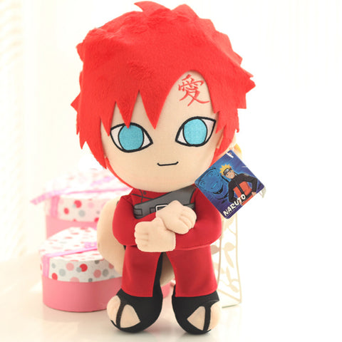 Naruto Plushies - Gaara Plush Stuffed Toy - AnimeBling - 1