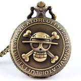 One Piece Pocket Watch - Quartz Movement Fob Watch - AnimeBling - 1
