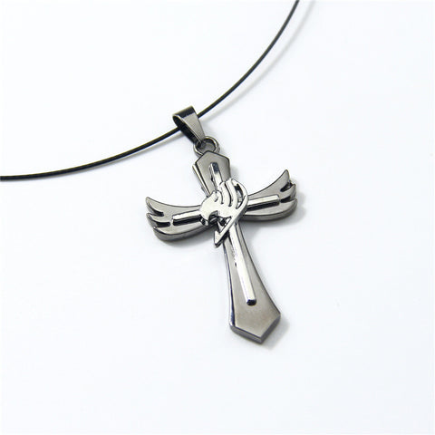 Fairy Tail Necklace - Guild Cross Symbol - AnimeBling - 1