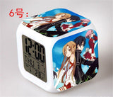 Sword Art Online - Digital Alarm Clock LED 7 Colors - AnimeBling - 7