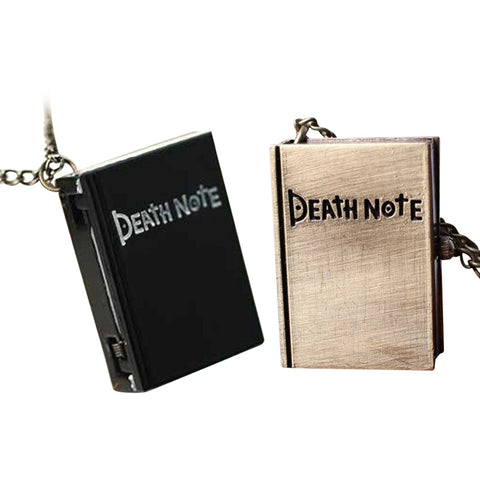 Death Note Necklace Watch - AnimeBling - 1