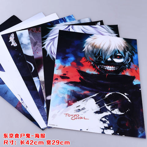 Tokyo Ghoul Posters - 8 Pcs/Set - AnimeBling - 1