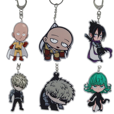 One Punch Man Keychains - 6 Variations - AnimeBling - 1