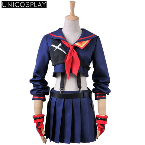 Kill la Kill Cosplay - Ryuko Matoi Navy Sailor Uniform - AnimeBling - 1