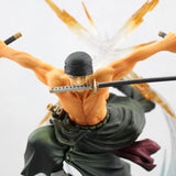 One Piece Action Figure - Roronoa Zoro Combat Pose - AnimeBling - 4
