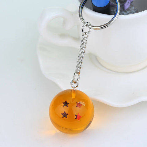 Dragon Ball Z Keychain - 1 2 3 4 5 6 7 Star Ball - AnimeBling - 1