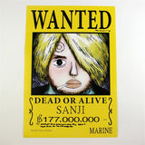One Piece Posters - 11 Pcs/Set Wanted Posters - AnimeBling - 5
