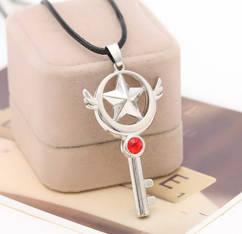 Cardcaptor Sakura Necklace - Star Key Necklace - AnimeBling - 1