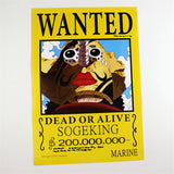 One Piece Posters - 11 Pcs/Set Wanted Posters - AnimeBling - 12