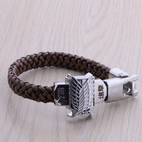 Attack on Titan Bracelet - Scouting Legion Style - AnimeBling - 1