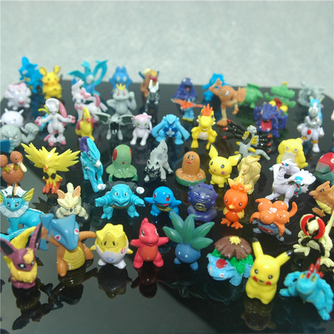 Pokemon Mini Figures - Wholesale 144 Pcs/Set - AnimeBling - 1