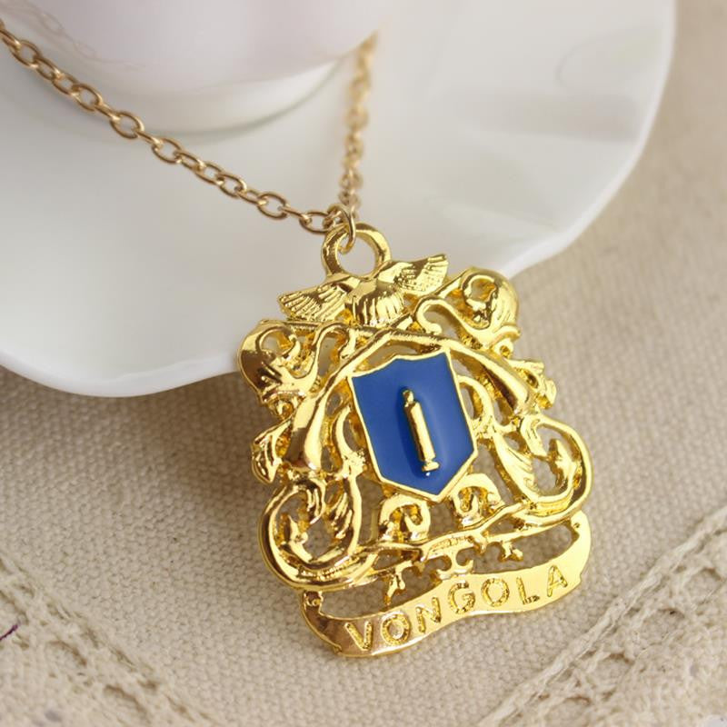 Katekyo Hitman Reborn Necklace Blue Vongola Logo Animebling