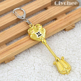 Fairy Tail Lucy Keys - Constellation Keychains - AnimeBling - 9