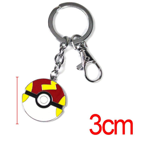 Pokemon Pokeball Keychain - 12 Styles - AnimeBling - 2