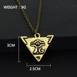 Yugioh Necklace - Triangle Pendant - AnimeBling - 5