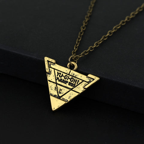 Yugioh necklace triangle pendant animebling yugioh necklace triangle pendant animebling 6 aloadofball Images