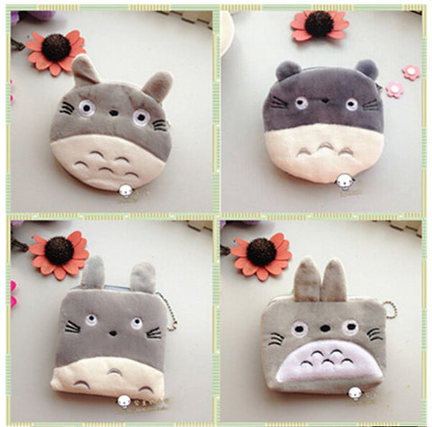 Totoro Purse - Plush Storage Case - AnimeBling - 1