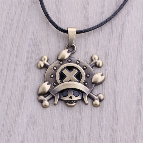 One Piece Necklace - Chopper Bronze Pendant - AnimeBling - 5