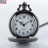 Black Butler Watch - Vintage Black Pocket Watch - AnimeBling - 2