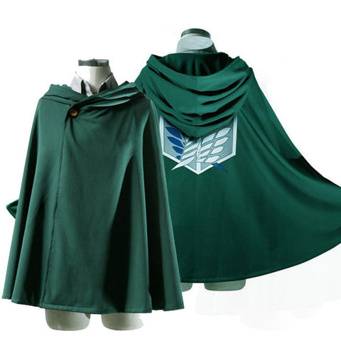 Attack on Titan Cosplay - Survey Corps Cloak - AnimeBling - 1
